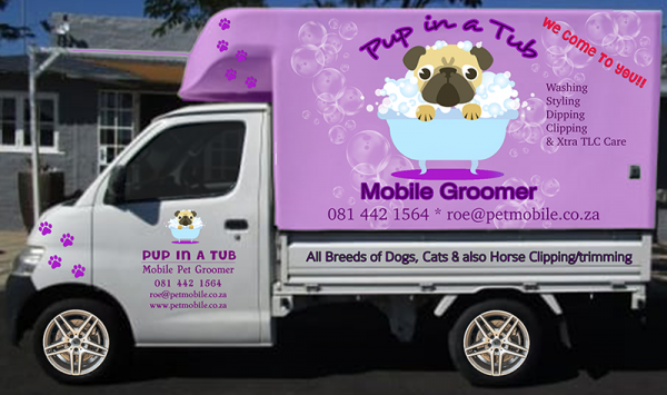 Pup in a Tub Mobile Groomers